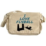 Love Flyball (2) Messenger Bag