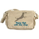 Disc Dog (2) Messenger Bag