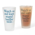 Watch Us Drinking Glass