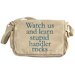 Watch Us Messenger Bag