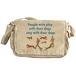 Play and Stay Messenger Bag