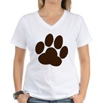 Friendly Paws Women's V-Neck T-Shirt