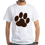 Friendly Paws White T-Shirt