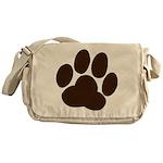 Friendly Paws Messenger Bag