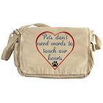 Touch Your Heart v4 Messenger Bag