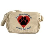 Touch Your Heart Messenger Bag