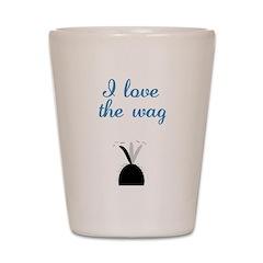 Love the Wag Shot Glass