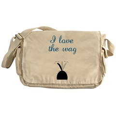 Love the Wag Messenger Bag