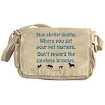 Get Your Pet Messenger Bag