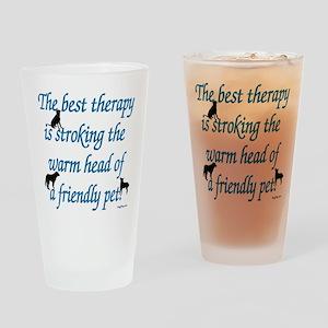 Warm Head Drinking Glass