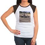 Herding Dog Art Women's Cap Sleeve T-Shirt