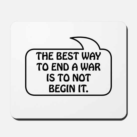 Anti War Bubble 1 Mousepad