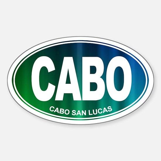 Cabo San Lucas - Sticker (Oval)
