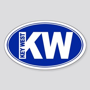 Key West, FL - Sticker (Oval)