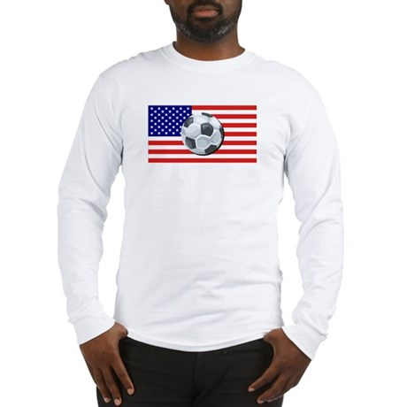 American Soccer Long Sleeve T-Shirt