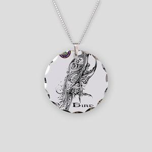 Bird Clan Necklace Circle Charm