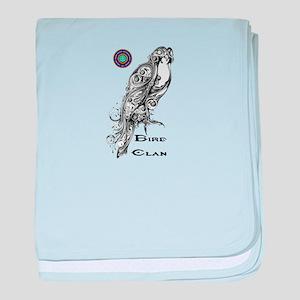 Bird Clan baby blanket