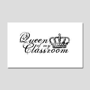 Queen of my Classroom Car Magnet 20 x 12
