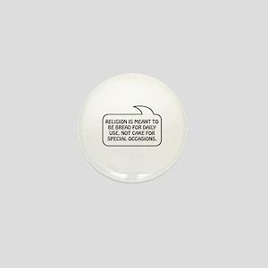 Religion Bubble 1 Mini Button