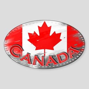 Canada - Sticker (Oval)