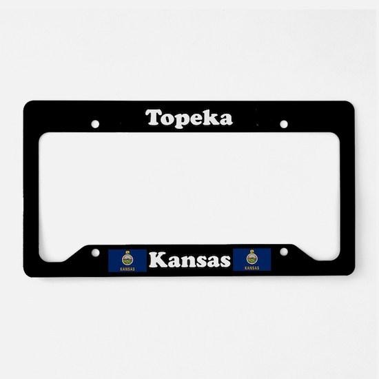 Topeka, KS License Plate Holder