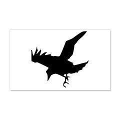 Black Crow 22x14 Wall Peel