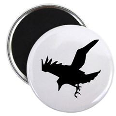 Black Crow Magnet