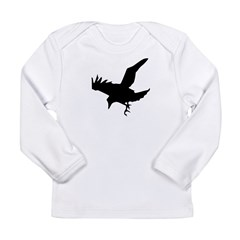 Black Crow Long Sleeve Infant T-Shirt