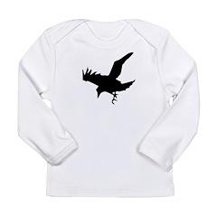 Black Crow Long Sleeve Infant T-Shirt