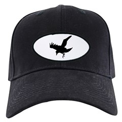 Black Crow Baseball Hat