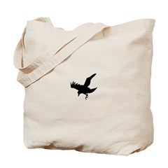 Black Crow Tote Bag