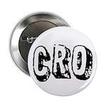"""""""CRO"""" 2.25"""" Button"""