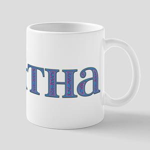 Tabitha Blue Glass Mug