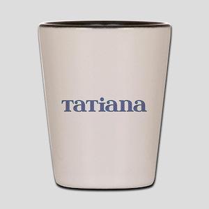 Tatiana Blue Glass Shot Glass