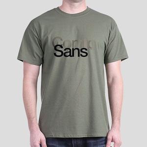 Comic Sans Dark T-Shirt