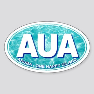 ARUBA - Sticker (Oval)