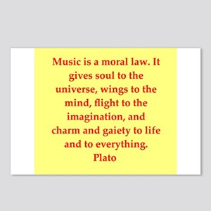 Wisdom of Plato Postcards (Package of 8)