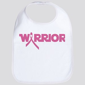 Pink Ribbon Warrior Bib