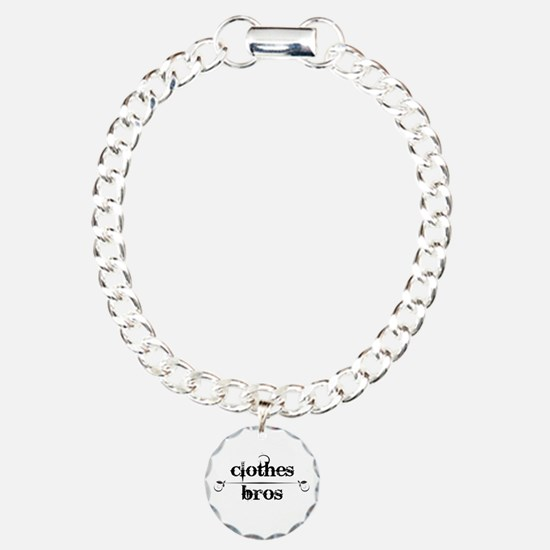 Clothes Over Bros Charm Bracelet, One Charm