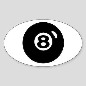 RACK 'EM Sticker (Oval)