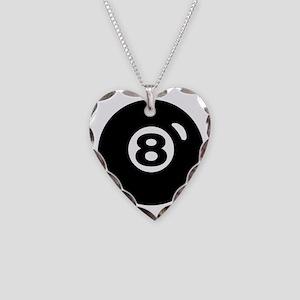 RACK 'EM Necklace Heart Charm