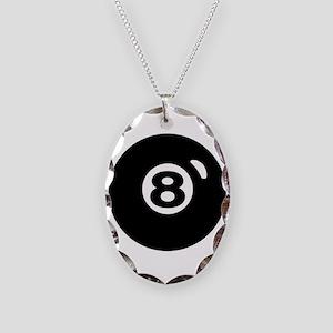 RACK 'EM Necklace Oval Charm