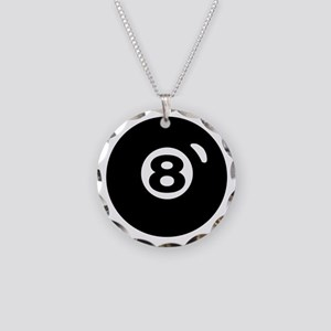 RACK 'EM Necklace Circle Charm