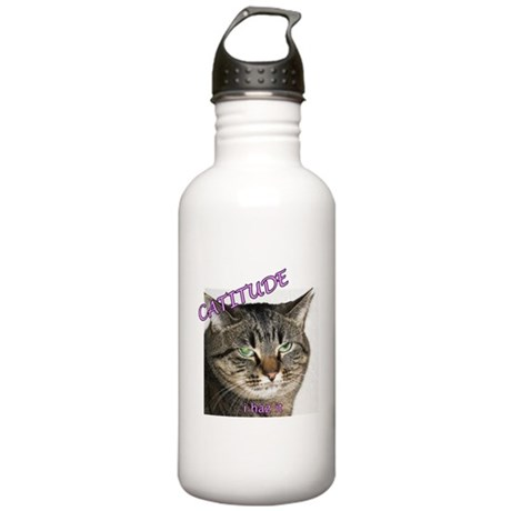 Catitude Stainless Water Bottle 1.0L