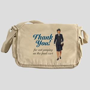 Poo'd Cart Messenger Bag
