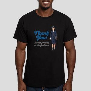 Poo'd Cart Men's Fitted T-Shirt (dark)