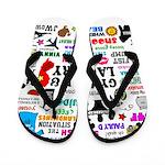 Jersey GTL Flip Flops