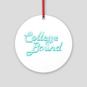 College Bound Ornament (Round)