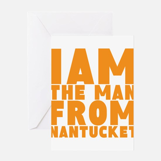 Nantucket Man Greeting Card