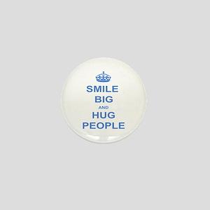 SMILE BIG Mini Button